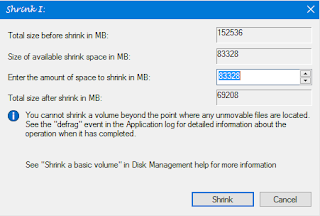HOW A CREATE A NEW PARTITION ON WINDOWS WITHOUT LOOSING ANY FILE 3
