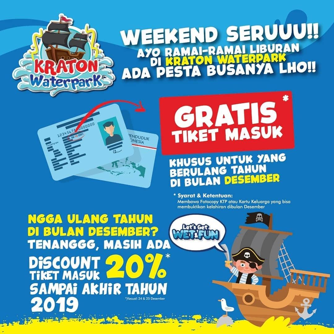 Tiket Masuk Kraton Waterpark Ponorogo