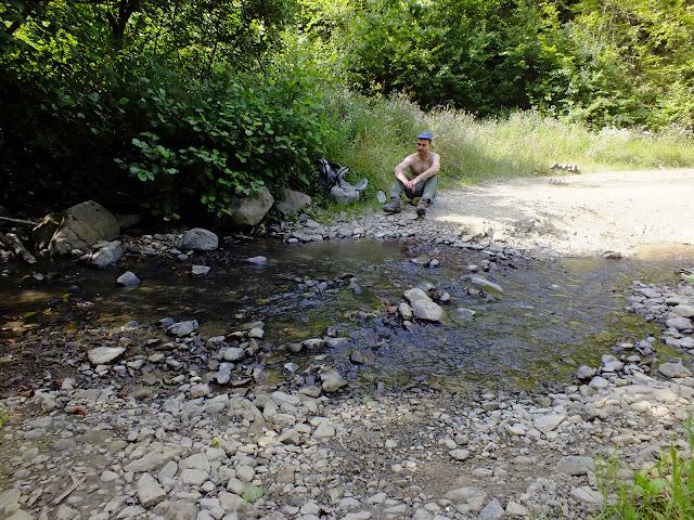 Река вблизи Свалявы