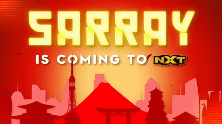 Saree estreará em breve no WWE NXT com novo nome