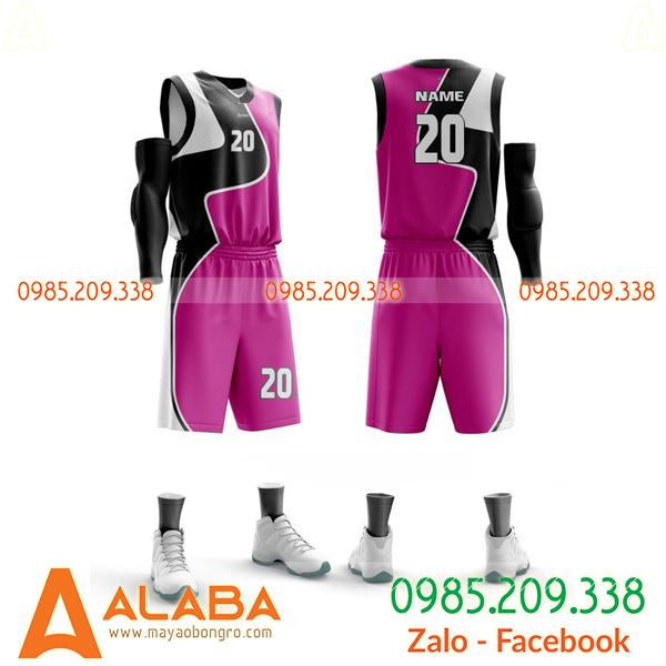 Áo bóng rổ đặt may theo yêu cầu lạ mắt