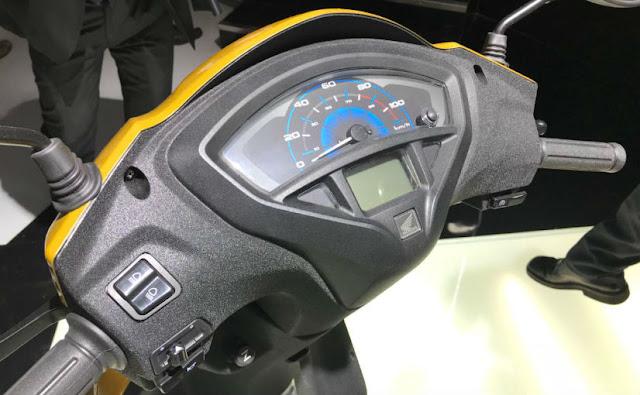 New 2018 Honda Activa 5G speed console image 01