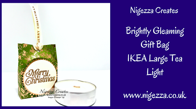 Nigezza Creates with Stampin' Up! Brightly Gleaming Speciality DSP