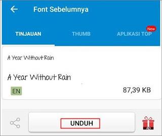 Cara Mengganti Font Android 4