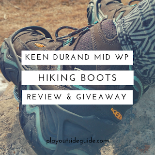 KEEN Durand Mid WP Hiking Boots Review & Giveaway - Play Outside Guide