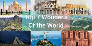 Top 7 best wonders of the world to travel to in 2020