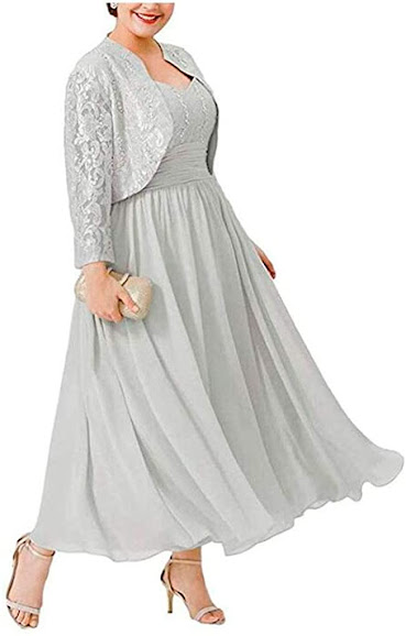 Discount Silver Mother of The Groom Dresses