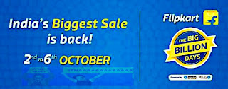 Flipkart-Big-Billion-Day-2016-Sale-Offer-2nd Oct- 6th Oct