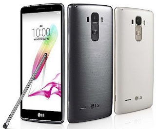 LG G3 Stylus layar 5.5 inci 2 jutaan
