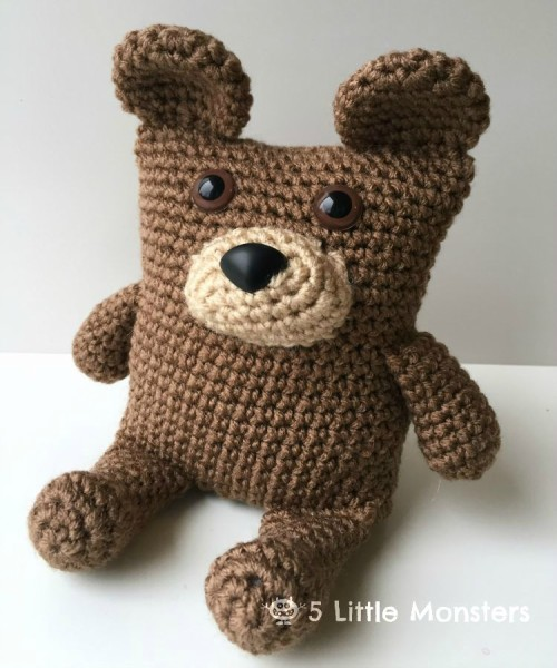 Boxy Bear - Free Pattern