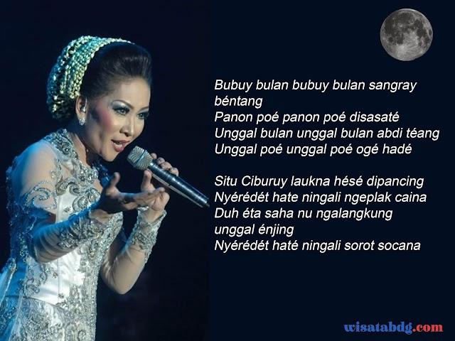 Terjemahan Lirik Lagu Sunda Bubuy Bulan dalam Bahasa Indonesia