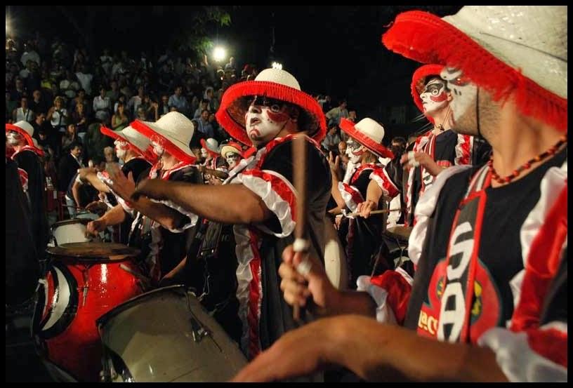 Desfile de Llamadas.Serenata Africana. Montevideo. 2011.