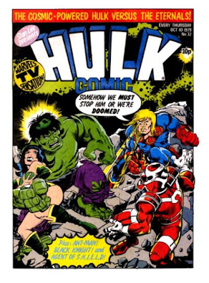 Hulk Comic #32, Ikaris vs the Cosmic Powered Hulk