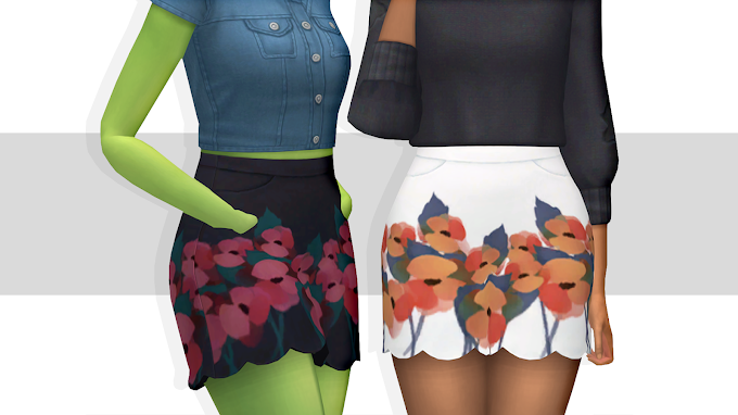 Trillyke's Scalloped Skirt Recolor