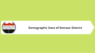 Demographic Data of Kinnaur District