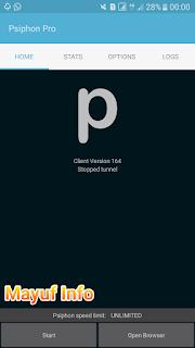 Cara Internet Gratis Terbaru Tanpa Payload Dan SSH Menggunakan Psiphon