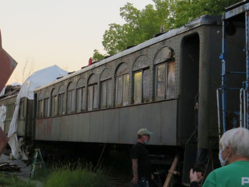 Stillwell Passenger railroad car