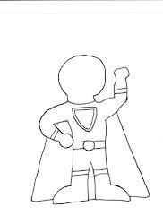 hero super theme templates superhero template teacher draw own printable blank power heros story stories tales elementary line games writing