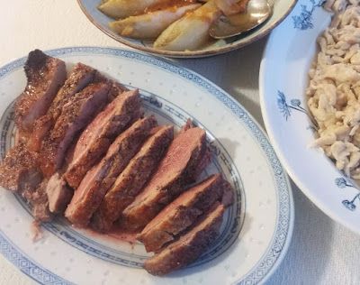 Broiled Muscovy Duck Breast
