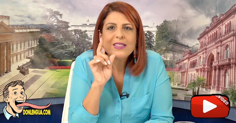 Patricia Poleo presenta pruebas de Crímenes federales cometidos por Juan Guaidó