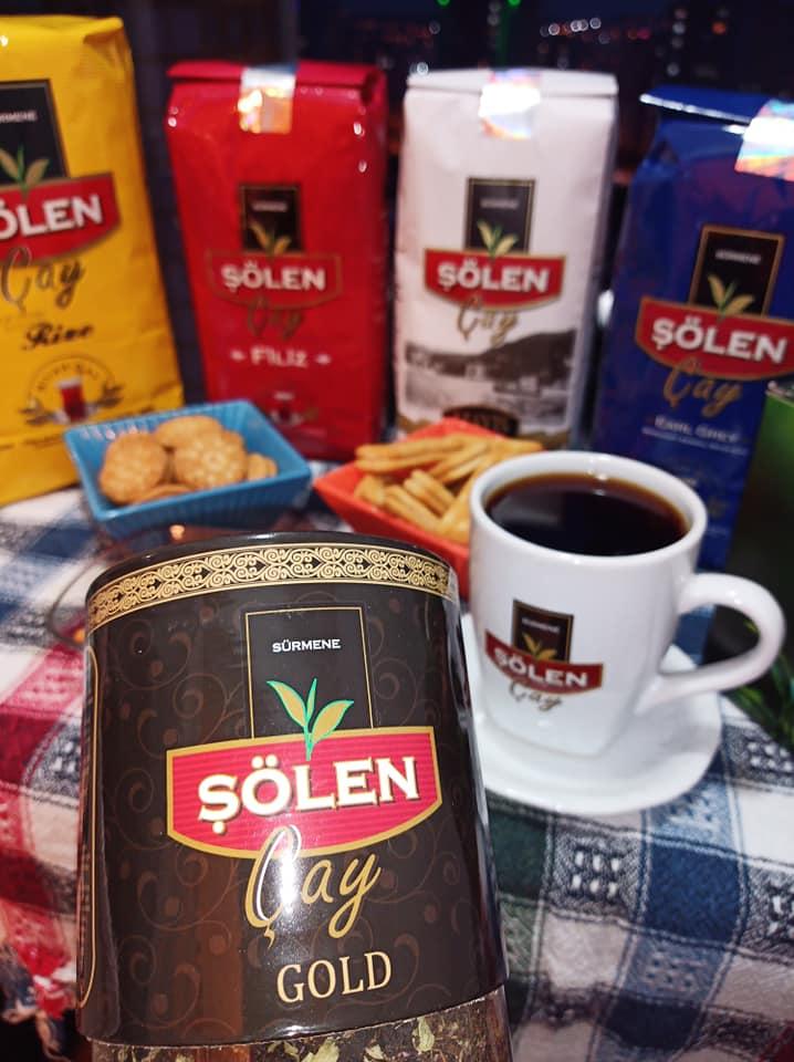 Şölen Gold Çay, isacotur avm şölen çay