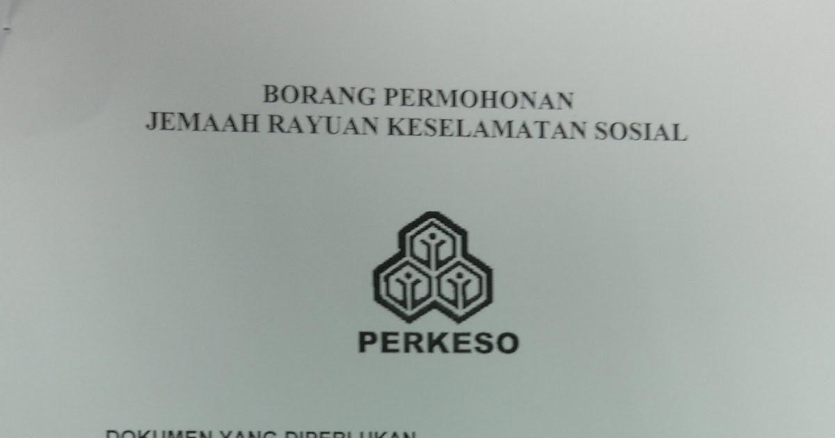 Contoh Surat Rayuan Untuk Perkeso
