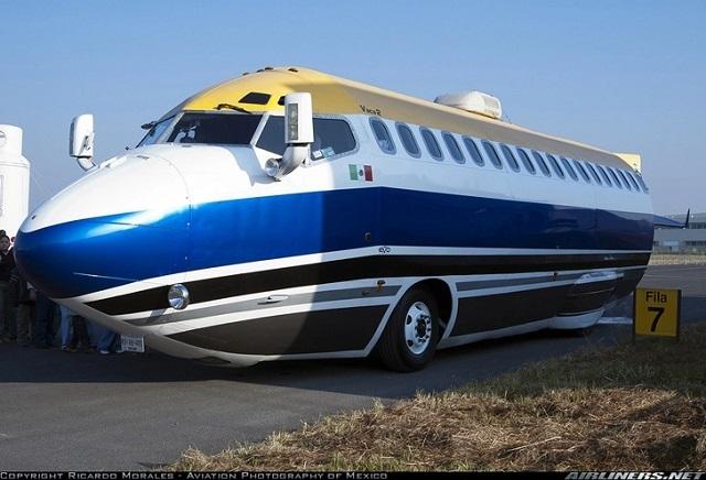 Autocaravana Boing 727