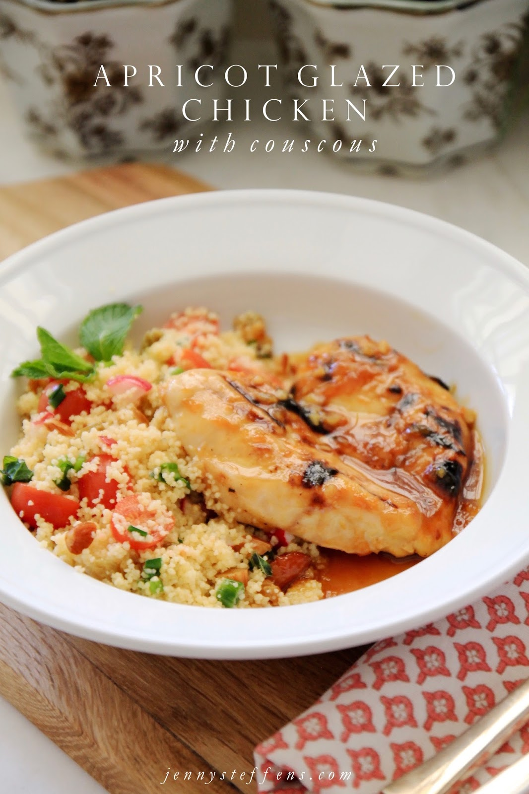 Jenny Steffens Hobick: Apricot Glazed Chicken with The Most Amazing ...