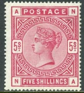 Great Britain 1884 Victoria
