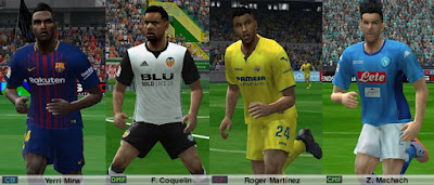 PES 6 HNL Patch Season 2017/2018