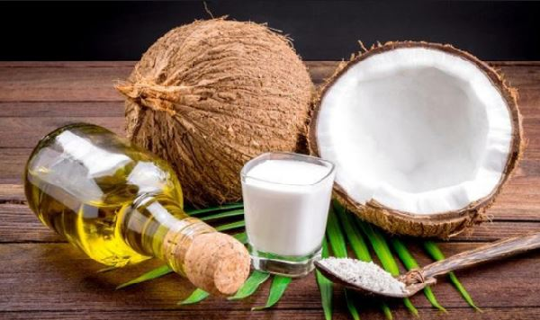 What are the benefits of grated coconut to the body?