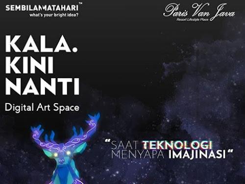 Wisata Video mapping PVJ Mall Bandung