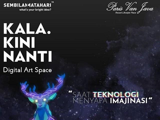 Kala Kini Nanti, Wisata Seni Visual Video Mapping di PVJ Mall Bandung