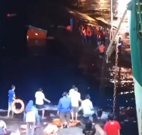 Petugas Masih Berfokus Evakuasi, Pasca Kapal Tenggelam di Pelabuhan Gilimanuk