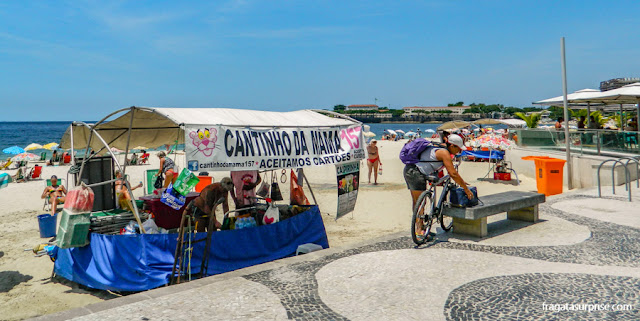Barraca na Praia de Copacabana, Rio de Janeiro