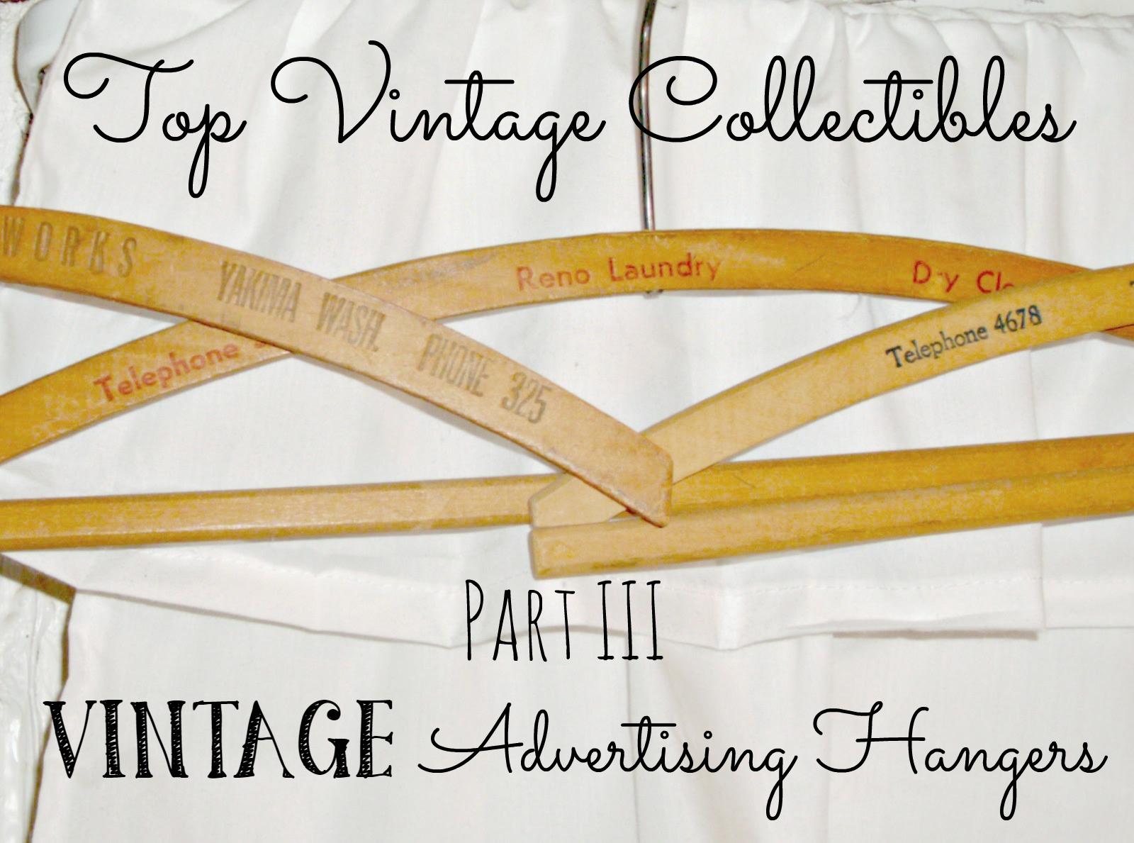 Vintage Advertising Hangers