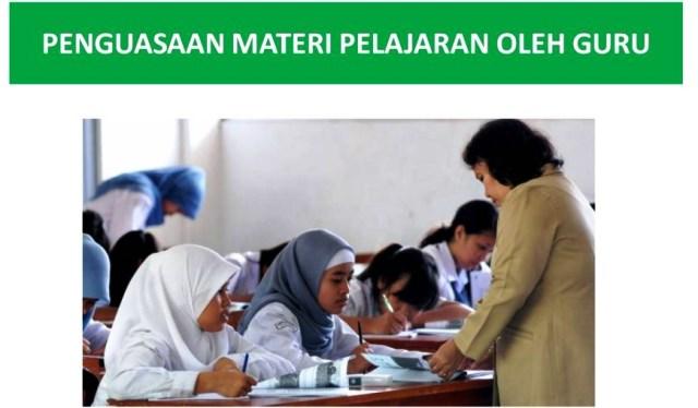 Penguasaan Materi Pelajaran