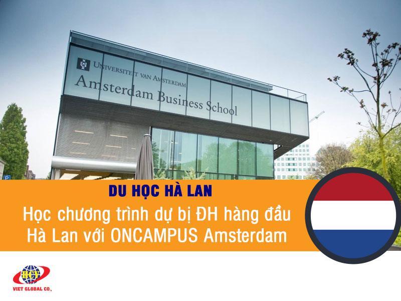 Du học Hà Lan: Học chương trình dự bị đại học hàng đầu Hà Lan cùng ONCAMPUS Amsterdam