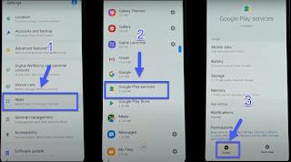 Cara atasi luopa password email pada Samsung  SM-M205