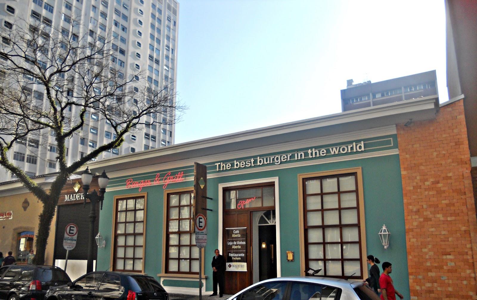 Recuerdos   da mudança para Curitiba( julho agosto de 2011)  Restaurante  Madero na Rua Comendador Araújo. 5c9cc7eed2