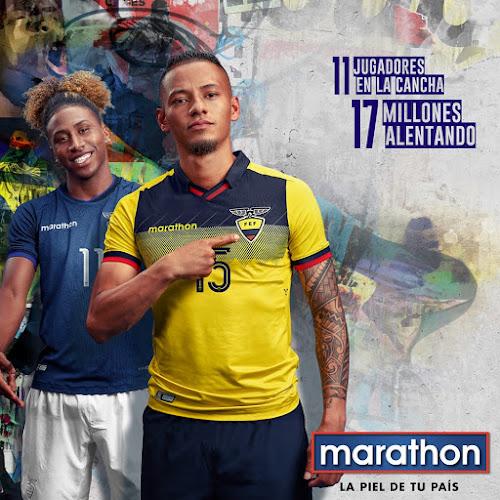 628a5b9936f9d0 la nueva camiseta oficial y alterna de la Selección nacional Ecuador 2019