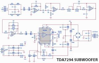 TDA7294 SUBWOOFER AMPLFIER