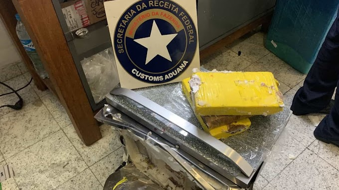 Receita apreende cocaína dentro de forno no aeroporto de Guarulhos