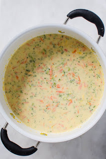 cheesy broccoli soup recipe winter meatless