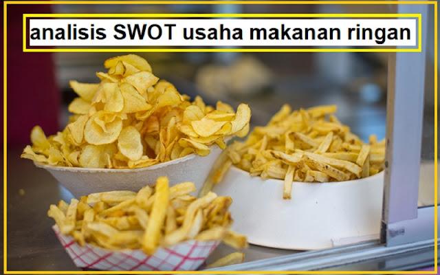 analisis swot untuk usaha makanan
