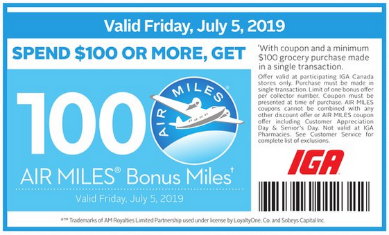 Rewards Canada: July 5 Update: Earn up to 500 bonus AIR