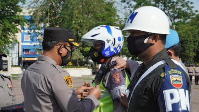 Kapolres Tebingtinggi Pimpin Apel Pasukan Ops Ketupat Toba 2021