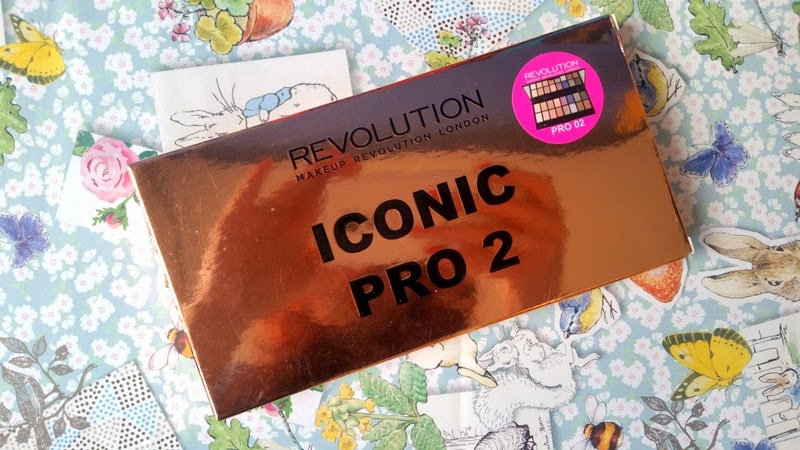 Makeup Revolution Iconic Pro 2 Review & Swatches