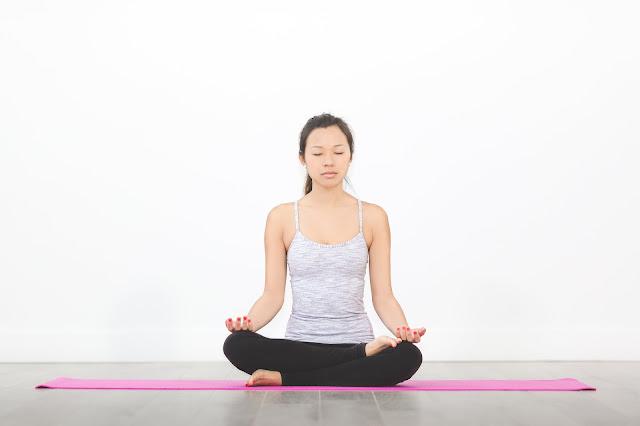 the Lotus Pose (Padmasana)