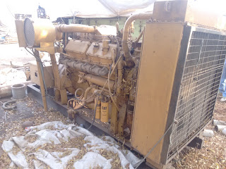 caterpillar diesel generator for sale, used, second hand, 500 KVA, marine, industrial, 60 Hz, 1800 RPM, 400 Kw